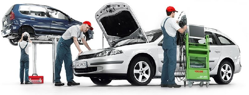 Участки технического ремонта авто