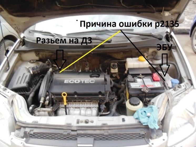 Ошибка Р2135