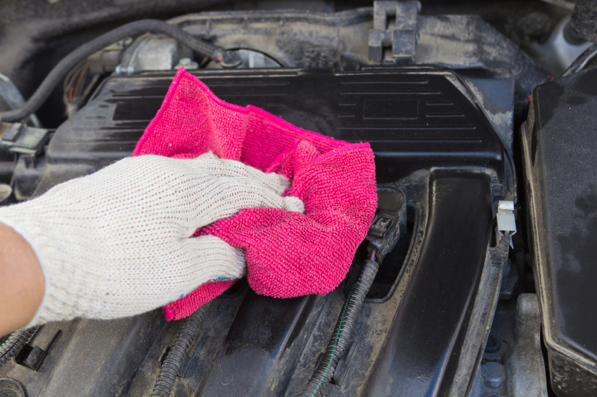 Как почистить двигатель авто