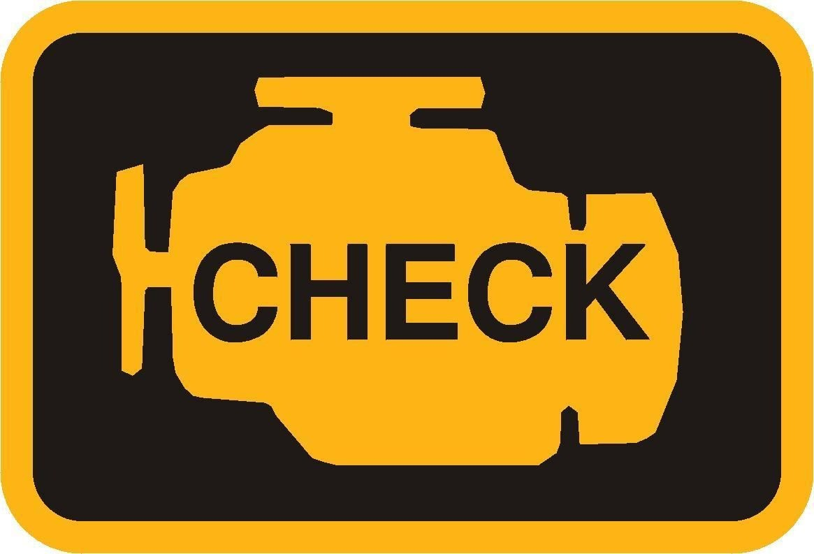 Горит check engine