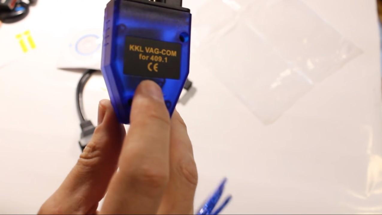 K-line адаптер для диагностики Фольксваген
